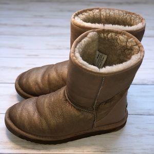 Ugg Soft Gold Classic Short Boot